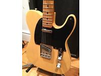 2009 Fender 'Baja' Classic Player Telecaster – Blonde – Custom Shop Pickups