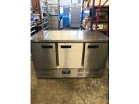 Commercial bench counter pizza fridge for shop pizza meat jajsh