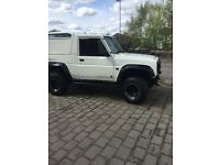 DIAHATSU FOURTRAK £1900 BARGAIN 4x4 off roader lift kit rock sliders