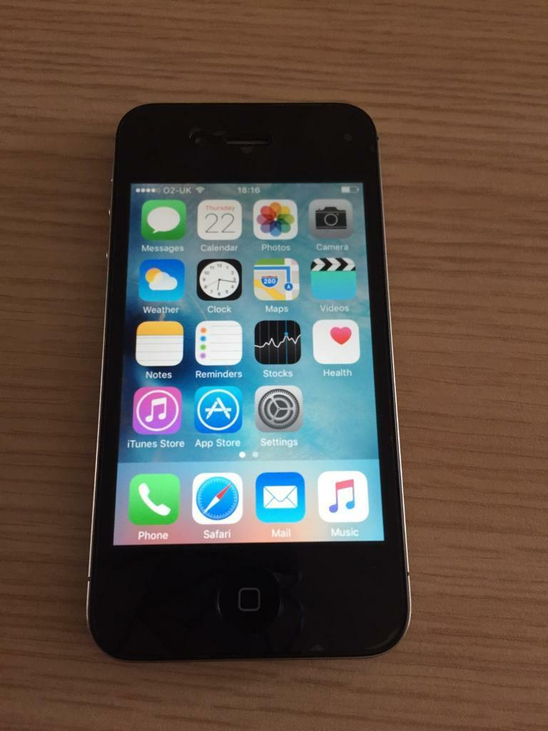 iphone 4s 32gb black mint condition in hodge hill. Black Bedroom Furniture Sets. Home Design Ideas