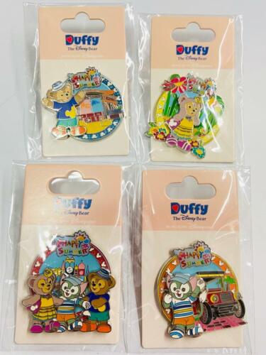 HKDL Disney Lot Duffy Gelatoni Shellie May Happy Summer 4 pin set