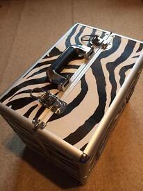 Zebra print case (Medium)