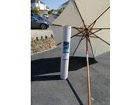 Neptune Classic parasol.. Natural