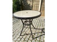 Garden bistro table £10
