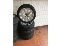 BMW OEM winbter wheel package New three and four series 17 inch brand new tyres
