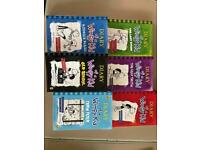 Diary of a wimpy kid brand new books