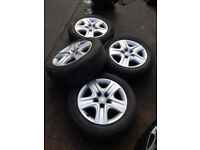 2011 Vauxhall Insignia Steel Wheels and Tyres,Size 225/55ZR17
