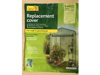 GARDMAN Replacement Cover for Walk-in greenhouse Brand New 1250 x 1900 x 1900