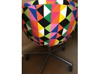 Colourful Ikea chair, Skruvsta