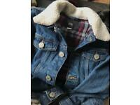 Boys River Island Denim Jacket