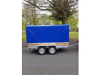 Brand new trailer 750kg twin axle