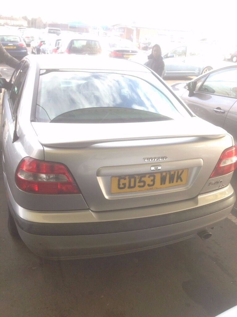 Volvo S40 2004, 1.9 petrol full leather 65,500 miles 3 former keepers