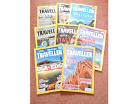 10 National Geographic Traveller Magazines