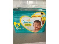 Pampers size 2 jumbo pack