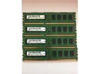 4GB PC3 10600 DDR3 Desktop Memory