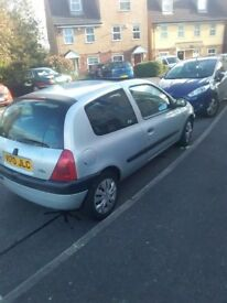 For sale. Renault Clio. Runs smoothly.