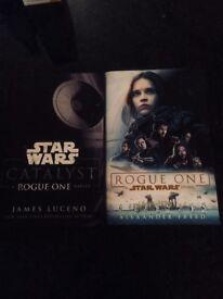 2 Star Wars Hardback Fiction
