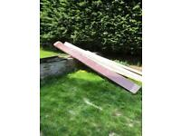 Solid Pitch Pine Wood Beam