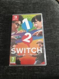 1 2 switch, Nintendo switch