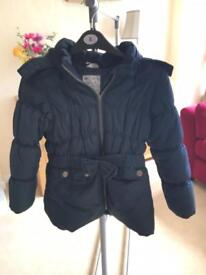 Girl's coat age 8-9 excellent condition