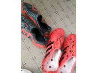 Football boots glichy size 9 with skins