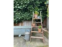 Antique Wood Ladders Vintage Garden Display