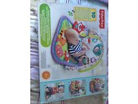 Fisher price playmat as new in box