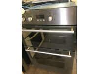HOTPOINT DOUBLE BUILT IN ELECTRIC OVEN