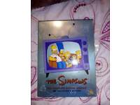 The Simpsons dvd box set