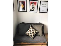 Ikea Futon Sofa Bed ideal for Mancave or Student Room!