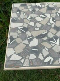 Stunning hand crafted mosaic top