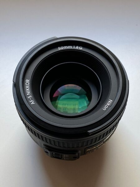 Nikon AF-S Nikkor 50mm F/1.8G - Camera Lens Excellent Condition for sale  Manchester, Manchester