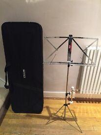 Kinsman 3/4 electric guitar hard case