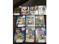 Play station 2 and 10 games