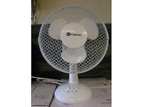 Kingavon 9 Inches Desk Fan. Brand new in Box