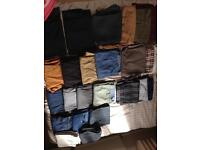 Men's jeans and trousers 38w 29L