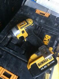 DewaltXR impact driver with 4amp battery (no charger)