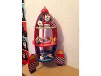Wooden rocket toy £10