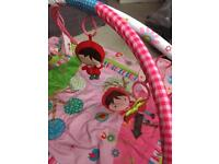 Baby gym play mat