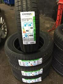 New And part worn tyres