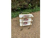 Gorgeous Vintage 3 tier gin/drinks trolley