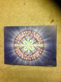 WHO WANTS TO BE A MILLIONAIRE BOARD GAME. COMPLETE AND GOOD CONDITION.