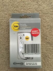 New Yale alarm key thob, remote compatible with Yale HSA6000 series alarm systems.
