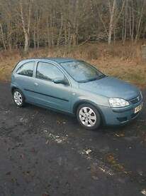 2006 06 Corsa 1.2 sxi only 79897 miles just been MOTd expires 04/12/27