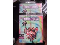 SUICIDE SQUAD,BLU RAY 4K VERSION