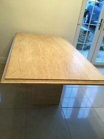 Stunning ( sterling furniture) Marble Dining room table