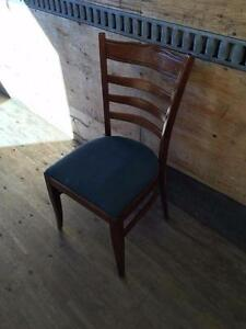 105 Commercial Hardwood Dining Chairs