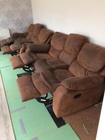 2 piece recliner sofas
