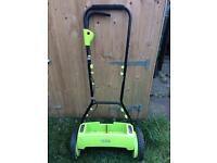 Electric Lawn Mower Cordless Battery Powered