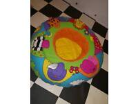 Baby play/support ring (inflatable)